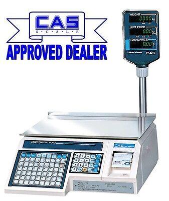 Cas LP1.7 Label Printing Retail Butchers Scale