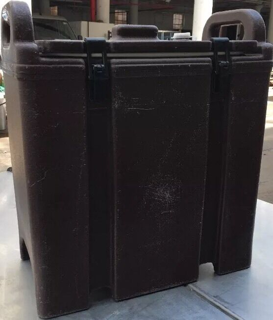 Cambro Brown Insulated Soup Carrier 350LCD. Our #7