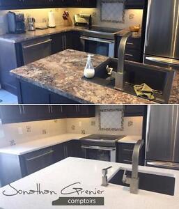 Comptoirs Granit / Quartz , cuisine & salle de bain LIQUIDATION