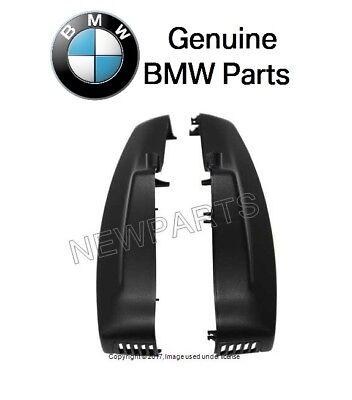 For BMW E60 E82 E88 E93 328i Inside Rear View Mirror Cover Set Black Genuine NEW