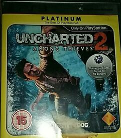 Uncharted 2 among the thiefs for ps3