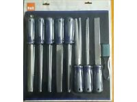 9 piece file and rasp set