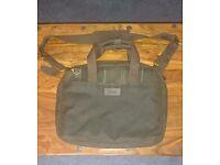 Barbour Mens Classic Tartan Wax Bag