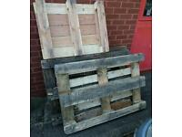 Wooden palettes, free to good home.