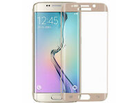 Genuine FULL CURVED 3D TEMPERED GLASS SCREEN PROTECTOR FOR SAMSUNG GALAXY S6 EDGE(Min. Order 10 pcs)