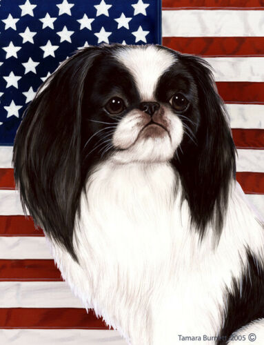 Patriotic (D2) House Flag - Japanese Chin 32133