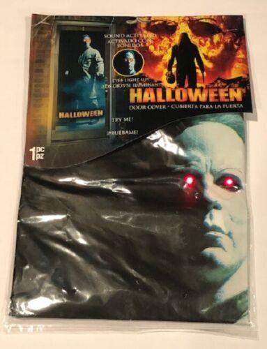 Halloween Michael Myers light up door cover, Rob Zombie film, VERY RARE!