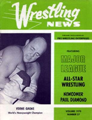 The Wrestling News Vol  1970 No  27 Crusher Awa Verne Gagne Crusher Bruiser
