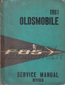 1961-Oldsmobile-F-85-Original-Shop-Manual-61-Olds-F85