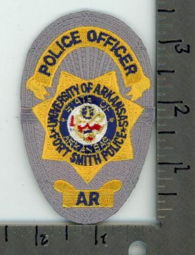 ARKANSAS AR UNIVERSITY OF ARKANSAS FORT SMITH POLICE NEW COLORFUL PATCH SHERIFF
