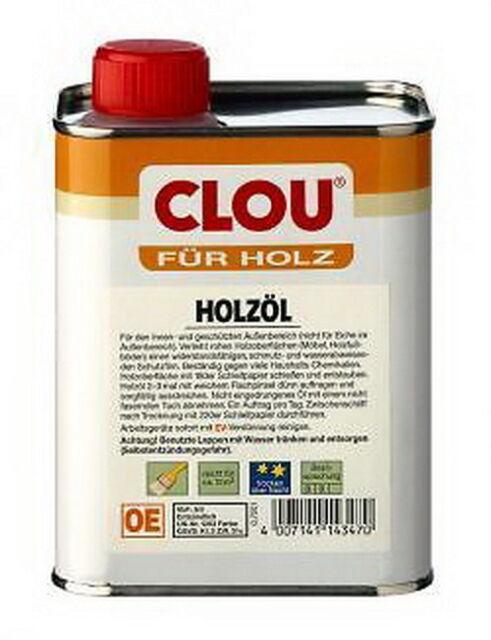 Clou Holzöl 250ml 750ml