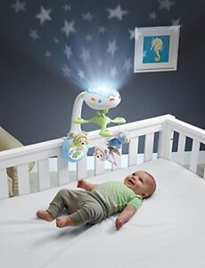 Fisher Price Baby Mobile Cot Butterfly Dreams Projection Nursery Music Lights