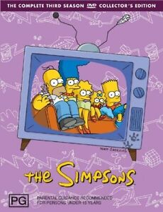 The-Simpsons-DVD-The-Complete-Third-Season-3-Series-4-Discs-13-Episodes-NEW