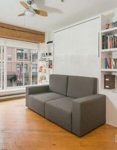 Sofa acheter et vendre dans grand montr al petites annonces class es de k - Liquidation lit escamotable ...