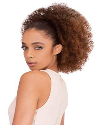 Janet Collection Synthetic Noir Everytime Drawstring Ponytail –Afro Coily String