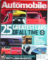 Automobile Magazine – 25 Greatest Cars Issue