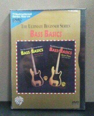 The Ultimate Beginner Series - Bass Basics Step One, Step Two   (DVD)  BRAND NEW Two Ultimate Beginner Series