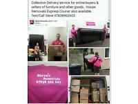 House Removals Man and Van Collection Deliver Service Courier