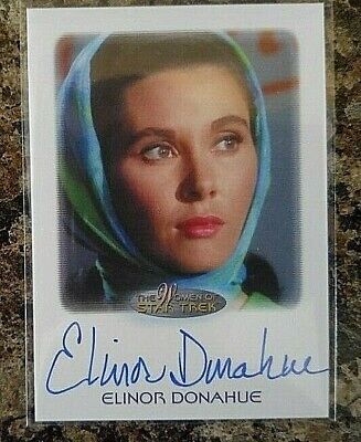 ELINOR DONAHUE AUTO 2015 STAR TREK FATHER KNOWS BEST ANDY GRIFFITH (Elinor Donahue Father Knows Best)