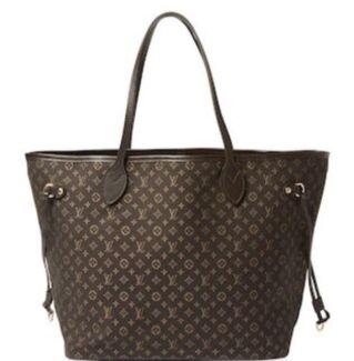 Louis Vuitton Fusain Monogram Idylle Canvas Neverfull Mm Bag
