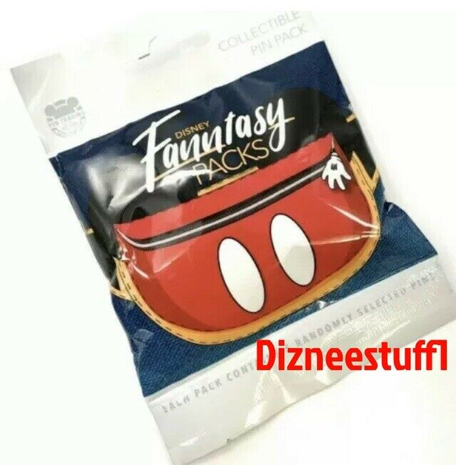 Disney Parks Fantasy Fanny Mystery Collection 5 Pc Pin Pack Sealed Fanntasy  NEW