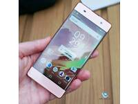 Sony Xperia xa rose gold unlocked mobile phone