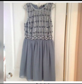 BRAND NEW WITH TAGS - size 8 Topshop embellished dress rrp £75