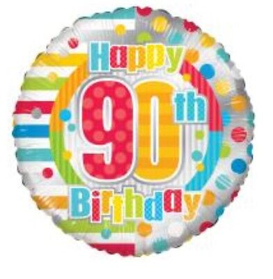 Happy 90th Birthday Balloons (Happy 90th Birthday 18