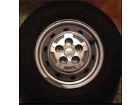 Continental Vancouver camper wheels and tyres 215-70-15