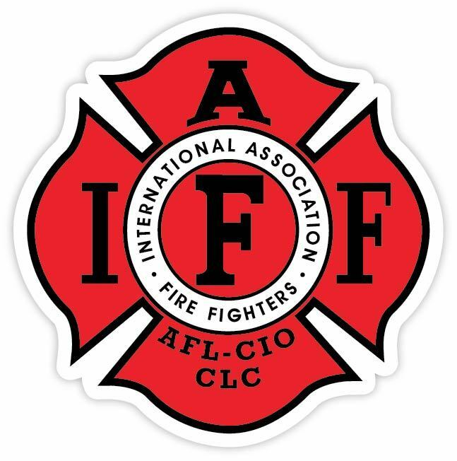 Home Decoration - Fire Fighters International Association IAFF Red Vinyl Sticker Decal AFL Sizes