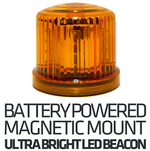 Battery amber beacon