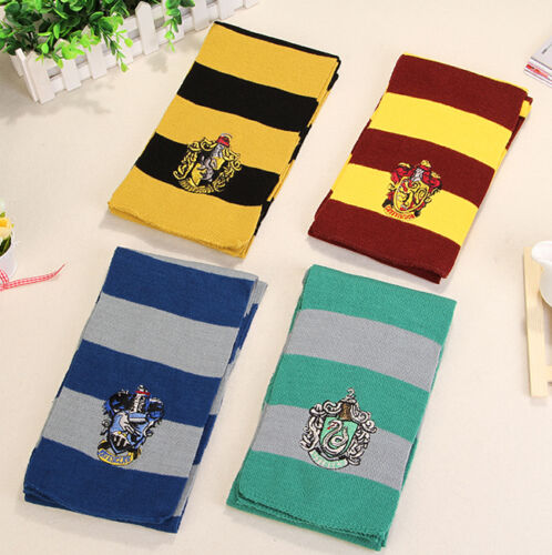 HARRY POTTER SCARF/TIE/SOCKS (GRYFFINDOR-SLYTHERIN ...