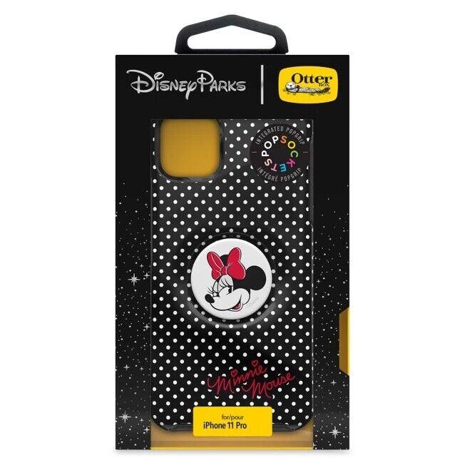 Disney Otterbox Symmetry iPhone 11 Pro Minnie Mouse Polka Pop Grip Phone Case