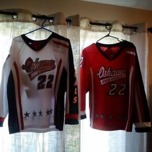 Oshawa Minor Generals-Kids Hockey Jersey`s  Red & White