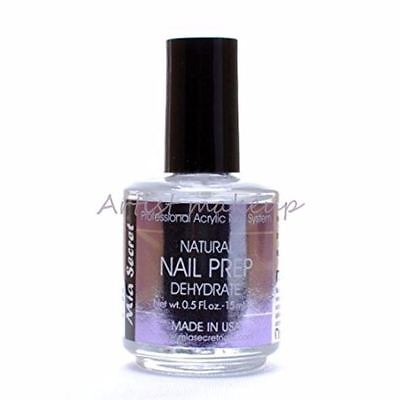 Mia Secret Professional natural Nail prep dehydrate 1/2 oz Made in USA