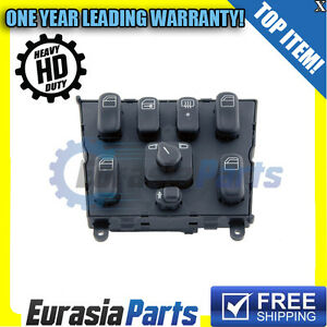 New Mercedes W163 ML320 ML430 Power Window Switch Console Heavy Duty