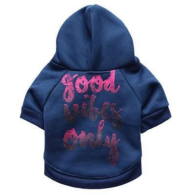 Hot Dogs Coat Jumpsuit Pet Puppy Soft Warm Flannel Clothes XS
