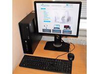 HP Compaq Core i3 Complete Windows 10 PC 4300 Pro SFF