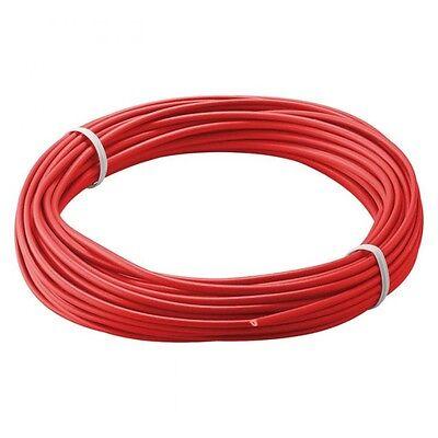 Kupferschaltlitze 10 m Rot 1-adrig Litze Kabel 0,14 mm² 4628