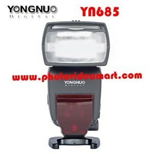 Yongnuo 685 C Flash with Build-in Radio for Canon