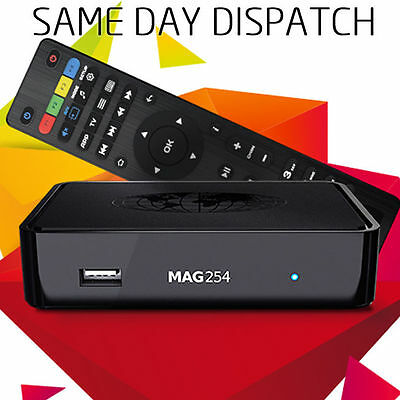 MAG 254 Latest ✅ Original Linux IPTV/OTT Box - New Faster Processor than MAG 250