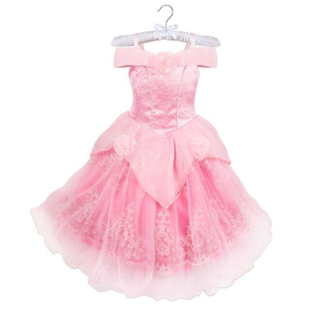 NWT! Disney Princess Signature Collection AURORA Dress Little Girl Size 11/12
