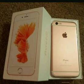 IPHONE 6S UNLOCKED ROSE GOLD MINT CONDITION