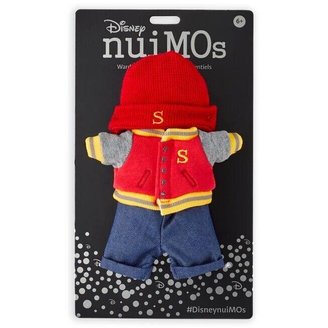 Disney NuiMOs Wardrobe Essentials Varsity Jacket Hat Beanie Denim Set Clothes