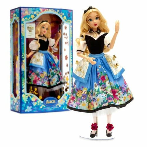 Alice in Wonderland by Mary Blair LIMITED EDITION DOLL BRAND NEW FREE SHIPPING