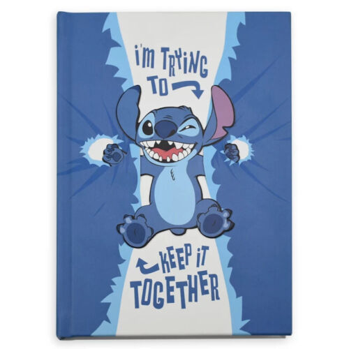 Walt Disney World Stitch Hardcover Journal, NEW