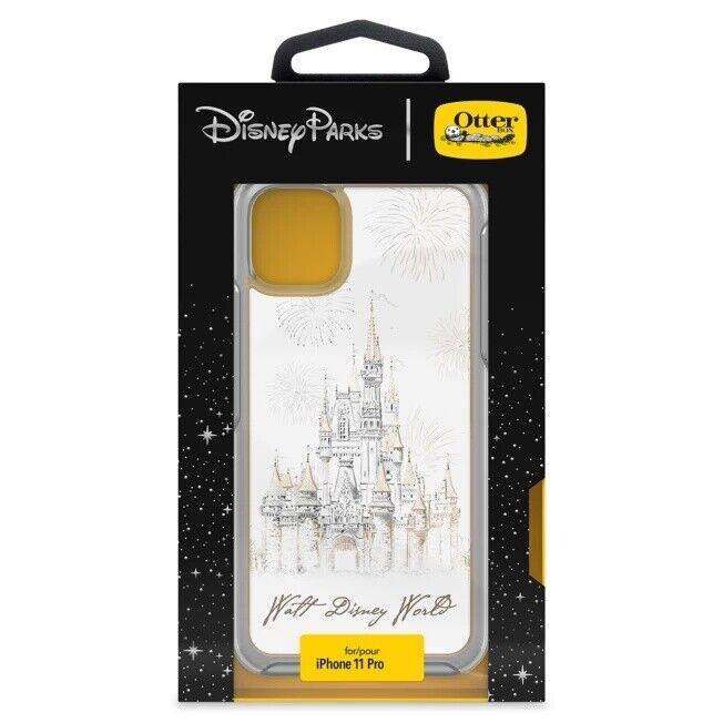 Disney Otterbox Symmetry iPhone 11 Pro WDW Castle Fireworks Pop Grip Phone Case