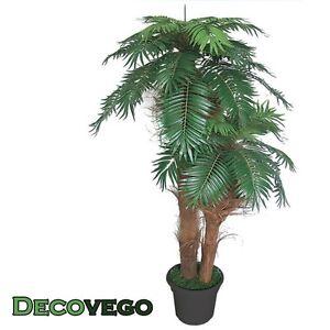 Palmier cocotier plante arbre artificielle artificiel 170cm bois naturelles d - Plante artificielle palmier ...
