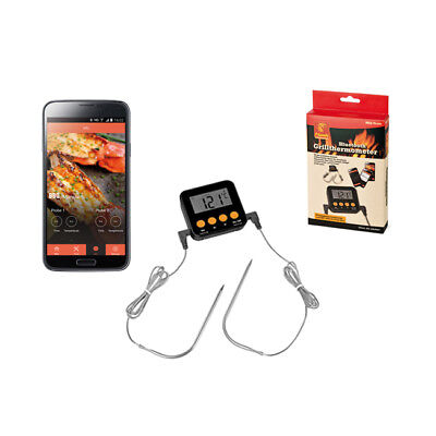 Flash Bluetooth Grillthermometer Grill Thermometer smart mit app Barbecue  BBQ Bluetooth Flash