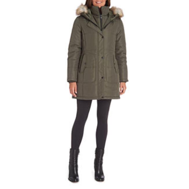 Liz Claiborne Puffer Jackets - coats & jackets Size Large NW